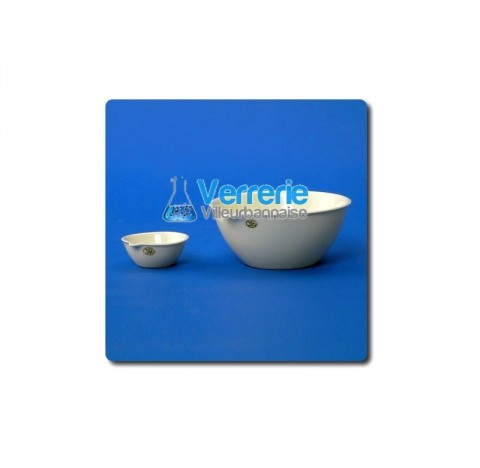 Capsule porcelaine fond plat diametre 55mm hauteur 22mm 0 JIPO condtionnement de 5 pieces