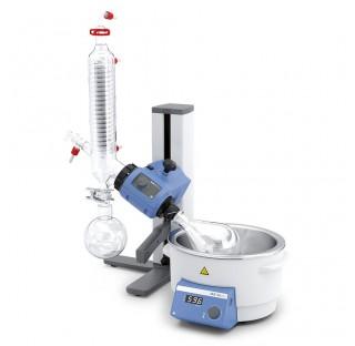 Rotovap RV 3 V-C Réfrigérant vertical volume du bain 4 litres, angle d'immersion réglable manuelleme