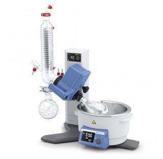 Rotovap RV 8 V-C Réfrigérant vertical volume du bain 3 litres, angle d'immersion réglable manuelleme