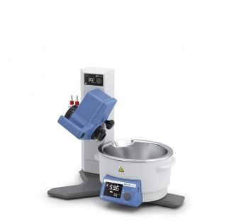 Rotovap RV 8 FLEX Réfrigérant vertical (verrerie en option) volume du bain 3 litres, angle d'immersi