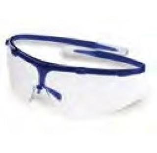 Lunettes de protection utlra legere 18 grammes , bleues