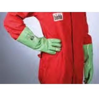 Gants Rubiflex longueur 37 cm en nitrileinterieur en coton Interlock norme EN374 pour graisses , hui