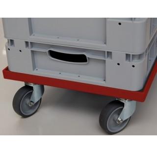 Roulettes de transport pour bac de stockage 600x400 mm