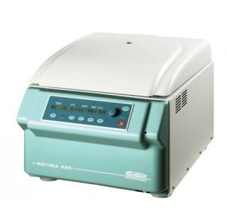 ROTINA 420, centrifugeuse de paillasse ventilee sans rotor, 208-240 V vitesse 15000 min-1 , ACR max