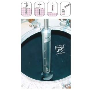 Preleveur pour citerne diametre de spirale 90 mm , diametre de chambre 40 mm volume 400 ml longueur