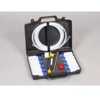 Echantillonneur MiniSampler en polyethylene Coffret complet compose de : pompe a vide , 10 flacons e