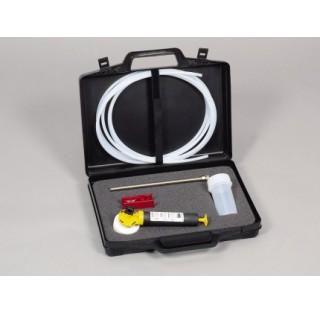 Echantillonneur MiniSampler en PTFE Coffret complet compose de : pompe a vide , 10 flacons en PFA 10