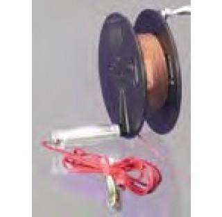 Bobine de cable manuelle EX avec cable de mise a la terre. avec les bobines de cables manuelles, les