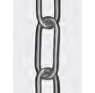 Chaine a galets de descente/traction V4A, longueur 25 m, diametre 2,3 mm. pour flacons et bombes a i