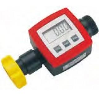 Compteur electronique pour pompe vide fut et reservoirs electriques pour huiles, diesel , acide chlo