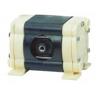 Pompe pneumatique a membrane pour transfert de fluide visqueux et corrosifs carter en PP et membrane