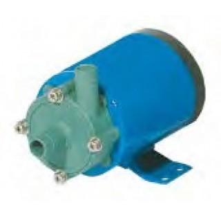 Pompe centrifuge a entrainement magnetique 15 W sans filetage , avec tuyau de reduction 14 mm Debit