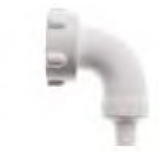 Coude de tuyau filetage M29X1,75 femellediametre d'evacuation 9 mm longueur 15 mm