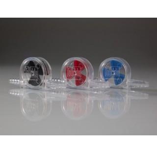 Indicateur de debit rouge en styrol-acrylonitrile temperature maxi 30 degre , non adapte aux liquide