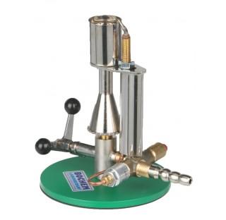 Bec Busen securise JUMBO a robinet gaz naturel 0,5-3Kw 23mBar 120g/h diam de base 120mm longueur 180