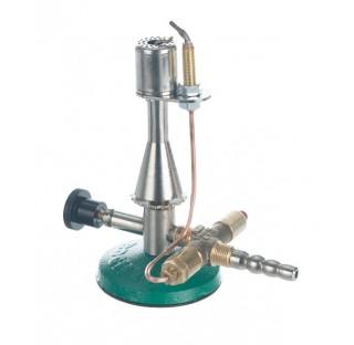 Bec busen de securite a robinet a pointeau gaz naturel 1,53 Kw 23mBar 120 g/h diam de base 78 mm lon
