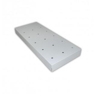 Caillebotis pour bac de retention pour armoire une porte L:635 a P:615 mm, dimensions (HxLxprof) a 9