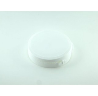 Cape pour pilulier P90 en PEHD blanc inviolable