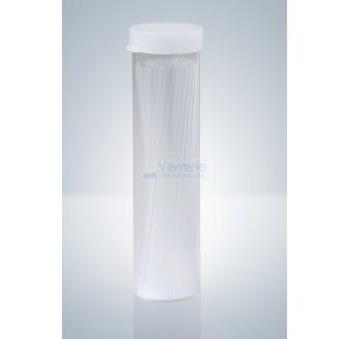 Tubes verre capillaire ouverts long. 100 mm diam. ext. 1mm diam. Int. 0,8mm pack de 1000 pieces