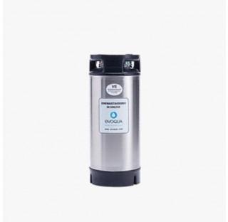 Cartouche demineralisatrice (vide) pour19 l de resine hauteur 570 mm diametre 230 mm, avec vanne d'e