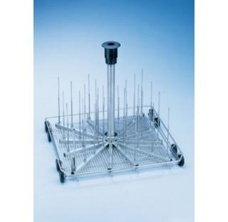 Chariot pour 39 butyrometres pour verrerie a col etrangle - Ballons - Eprouvettes dans PG 8535 - PG