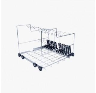 Chariot pour 38 pipettes sur 3 rangees pour PG 8583, PG 8593, PG 8583 CD  pour le traitement de pipe