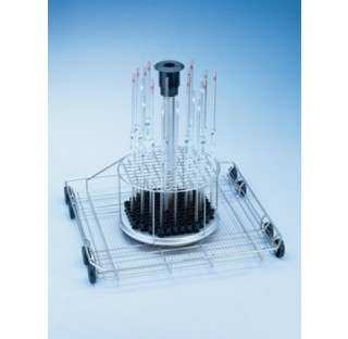 Chariot a injection pour 116 pipettes  Modele : E 406