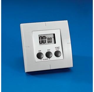 Minuteur et chronometre avec compte a rebours  jusqu'a 99minutes et 60 secondes fourni avec aimant.