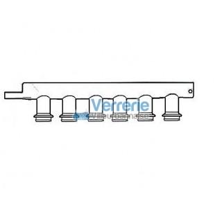 Collecteur de fumee 4 postes pour tube a mineraliser Type Buchi ou autre