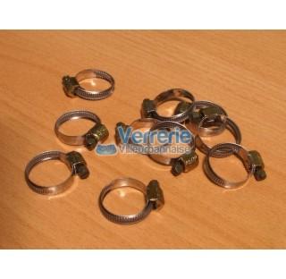 Colliers Serflex  pour tuyaux diam. 7 a 11 mm