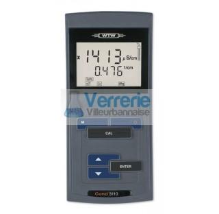 Conductivimetre robuste et convivial avec ecran graphique LCD retro-eclaire pour des mesures de rout