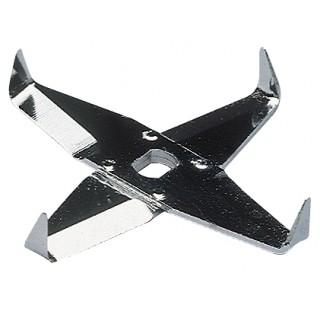 Couteau en croix M 23 pour broyeur M 20 pour le broyage de substances fibreuses comme le papier et l