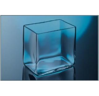 Cuve en verre dimensions LxlxH : 10x10x10  cm bac , aquarium moule sans joints recipients verre ordi