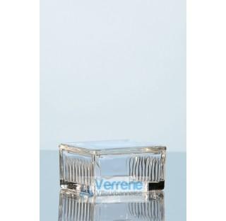 Cuve a coloration d'apres Schiefferdecker pr 10 lames 76x26 mm verre sodo-calcique  . Duran Schott l