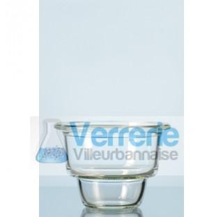 Partie inferieure de dessiccateurs a flasque plane, sans raccord, pour couvercle de tout type, DN 10
