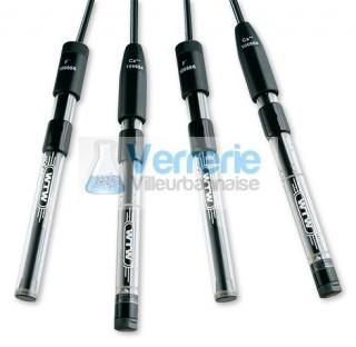 Electrode WTW specifique combinee Argent/Sulfites avec cable 1, prise DIN, 0,003 32,000g/l, necessit