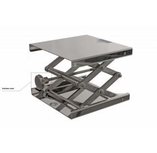 Elevateur autoclavable tout inox dimensions : 160x130 mm hauteur min/max : 60/275 mm poids maxi dyn.