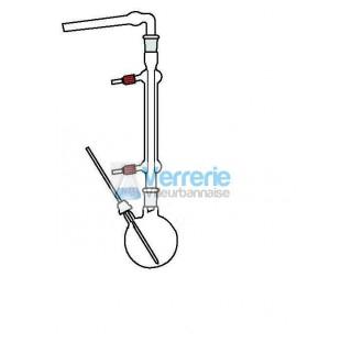 Ensemble pour reflux a absorption constitue de : 1 bicol 1L 29/32 rodaviss central et prise thermo i