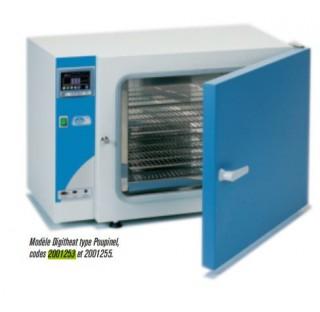Etuve bactériologiques et de cultures à convection naturelle, thermostat régulateur de températu