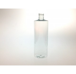 Flacon 500 ml PET cristal bague 24/415, Tubular