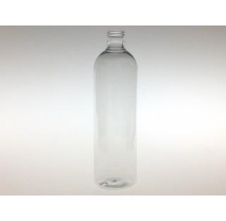 Flacon 500 ml PET cristal bague 24/415, tall boston round