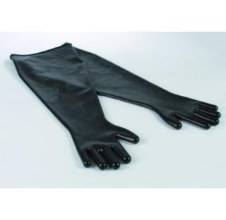 Paire de gant en EPDM antistatic longueur 800 mm taille 9,75 pour boite a gant ouverture diam 190 mm