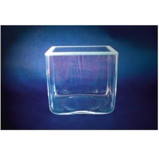 Cuve en verre dimensions LxlxH : 10.5x50x12  cm bac , aquarium moule sans joints recipients verre or