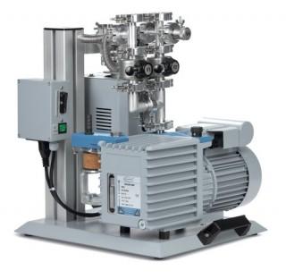 Groupe de pompage pour vide pousse HP 40 B2 avec RZ 6 FO, 230 V / 50-60 Hz, refroidi par air  debit