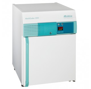 Incubateur Hettcube 200, 120V, 50HET,60Hz, 150 litres, 2 clayettes incluses (acier inox V2A 1.4301)