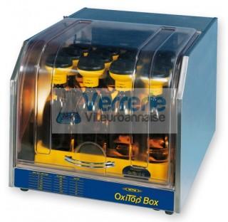 Enceinte thermostatique DBO WTW OxiTop modele de paillasse avec couvercle transparent, pour maximum
