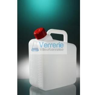 Jerrycan 2,5L Polyethylene haute densite JCP2-01