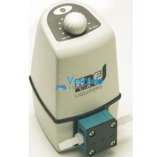 Pompe pour liquide a membrane LIQUIPORT anticorrosion Commande manuelle par bouton rotatif Debit nom