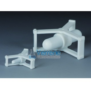 Aimant d'agitation pour becher 250 ml a400 ml diam total 67 mm hauteur totale 21mm dimensions de l'a