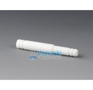 Connecteur reducteur PTFE en tubulure (olive) Diam du tuyau 6,8 mm, Diam du tuyau 4,5 mm Temp. Max.